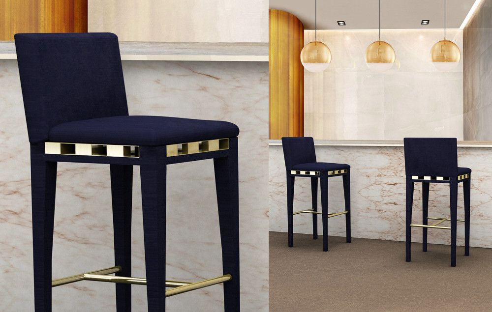 Contemporary Counter and Bar Stool by Bitangra Furniture Design