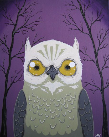 'Midnight Purple' by Schuyler Abrams on artflakes.com as poster or art print $20.66