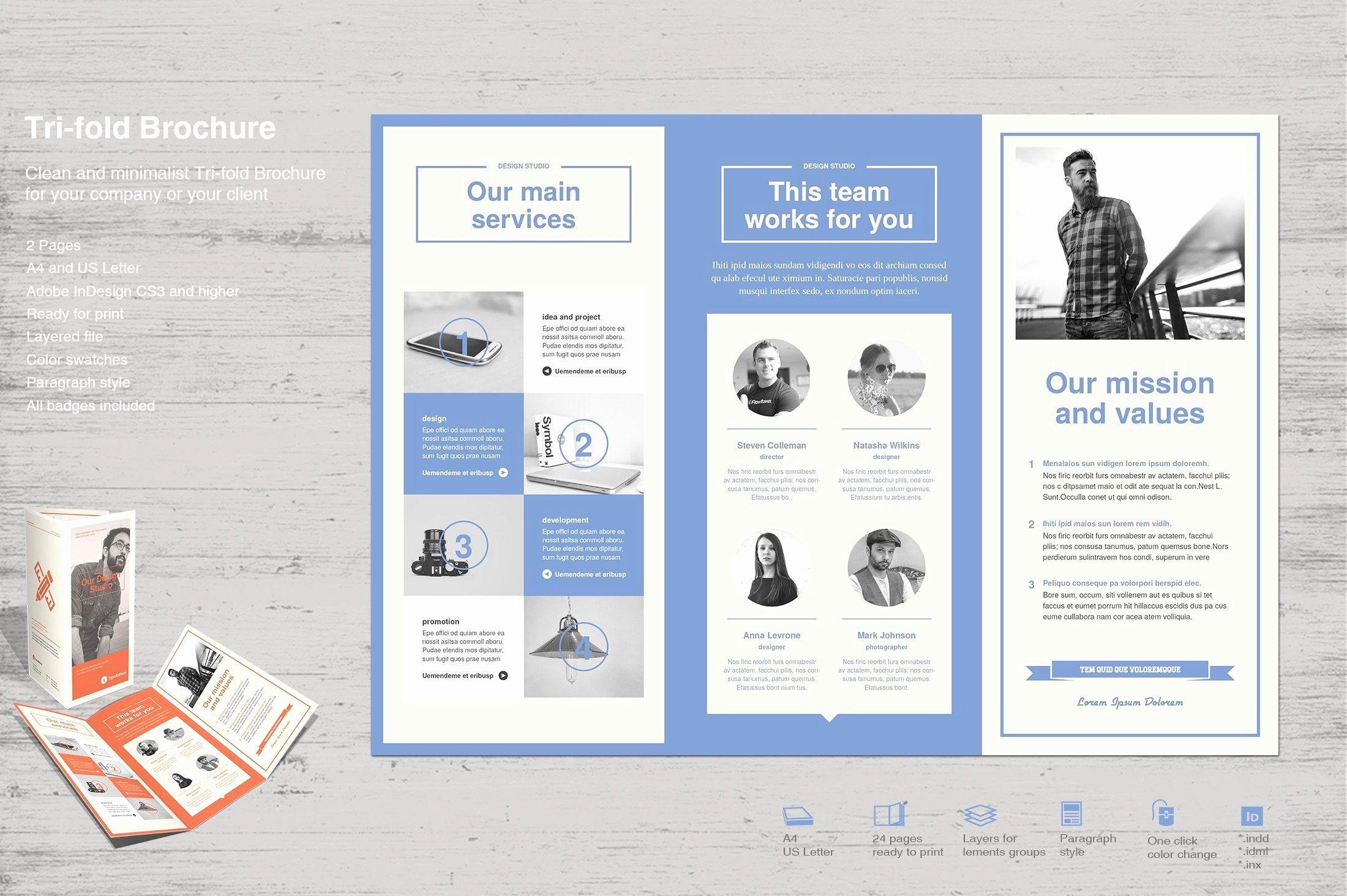Tri Fold Brochure Template Powerpoint Fresh Architect Powerpoint Template Sample Ho In 2020 Brochure Design Template Free Brochure Template Trifold Brochure Template