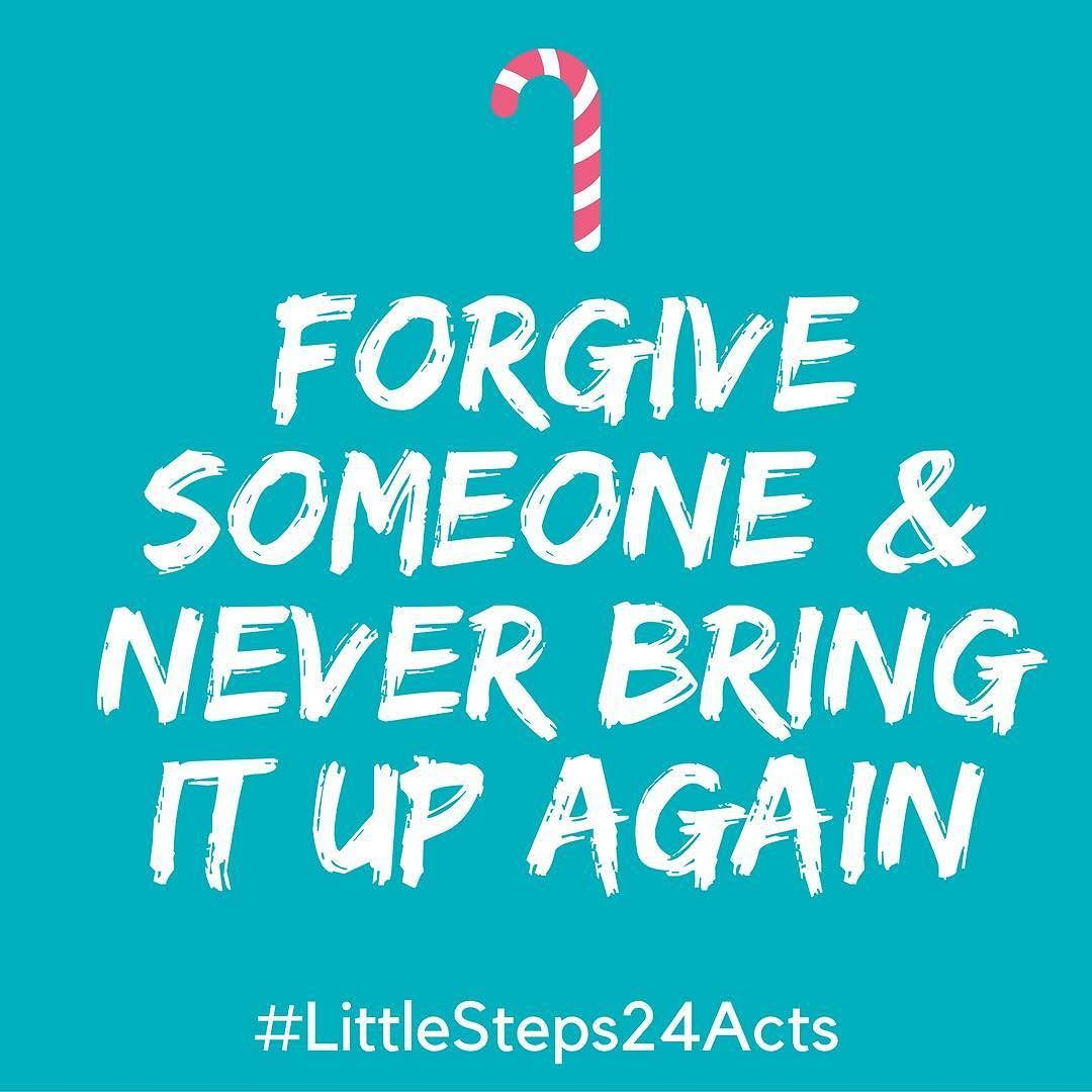 Random acts of kindness-day 6!  Whether it's stealing cookies from the cookie draw or something more...lets forgive.  #littlesteps24acts . . #mylittlesteps #randomactsofkindness #giveback #impact #kindnessmatters #forgiveness