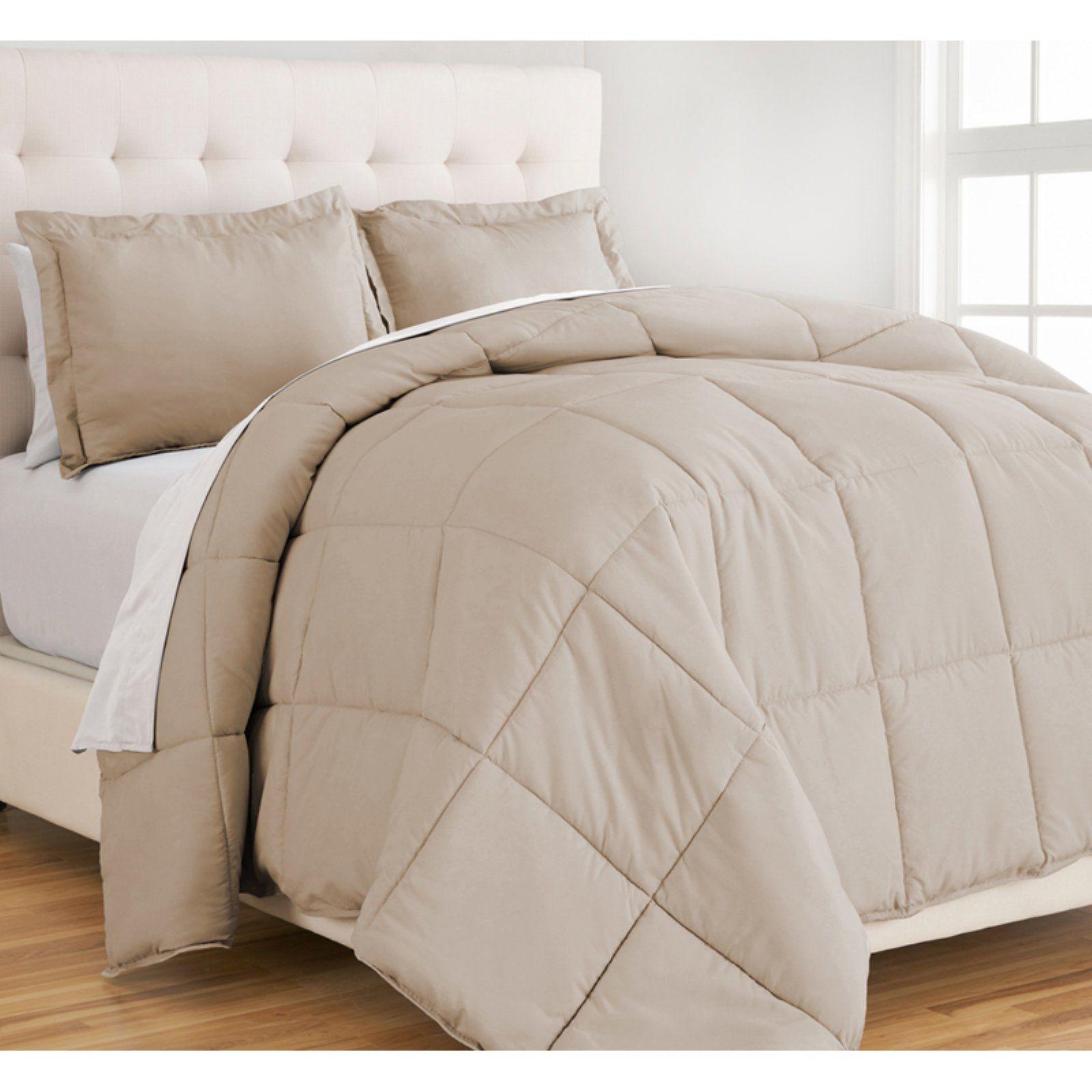 Bare Home Ultra Soft Hypoallergenic Down Alternative Comforter Set