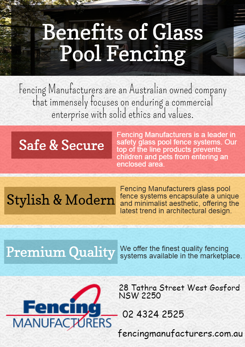 Fencing Manufacturers are an Australian owned company that immensely focuses on enduring a commercial enterprise with solid ethics and values. Our success lies in consistently exceeding customer expectations and offering real value for money.