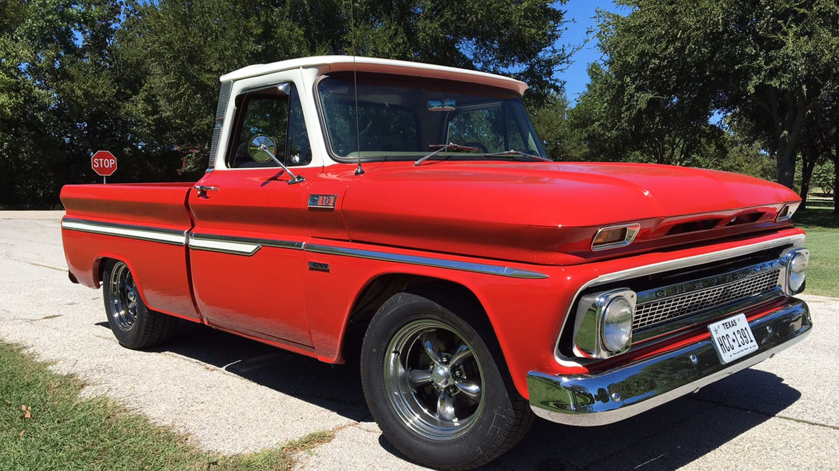 1965 Chevrolet C10 Silverado Pickup presented as Lot F41