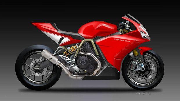 Ducati Superlight 900.
