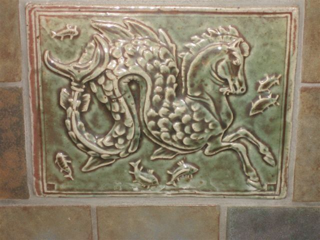 Decorative Relief Tiles Impressive Batchelder Tile Httpwwwsandiegofireplacesphotosfireplaces Inspiration Design