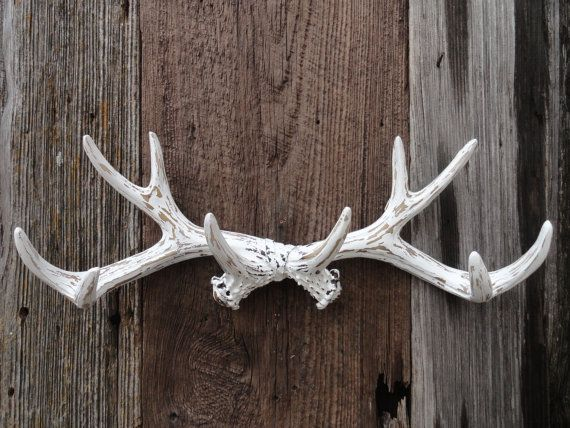 Wall Antlers Faux Deer Antler Rack Taxidermy Wall