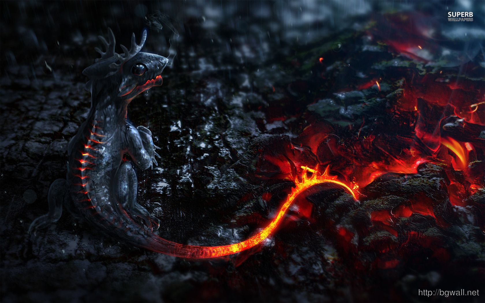 Ice Dragon Wallpaper Hd