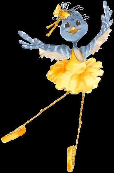 Tutu Yellow Png 367 555 Bird Art Bird Drawings Bird Illustration