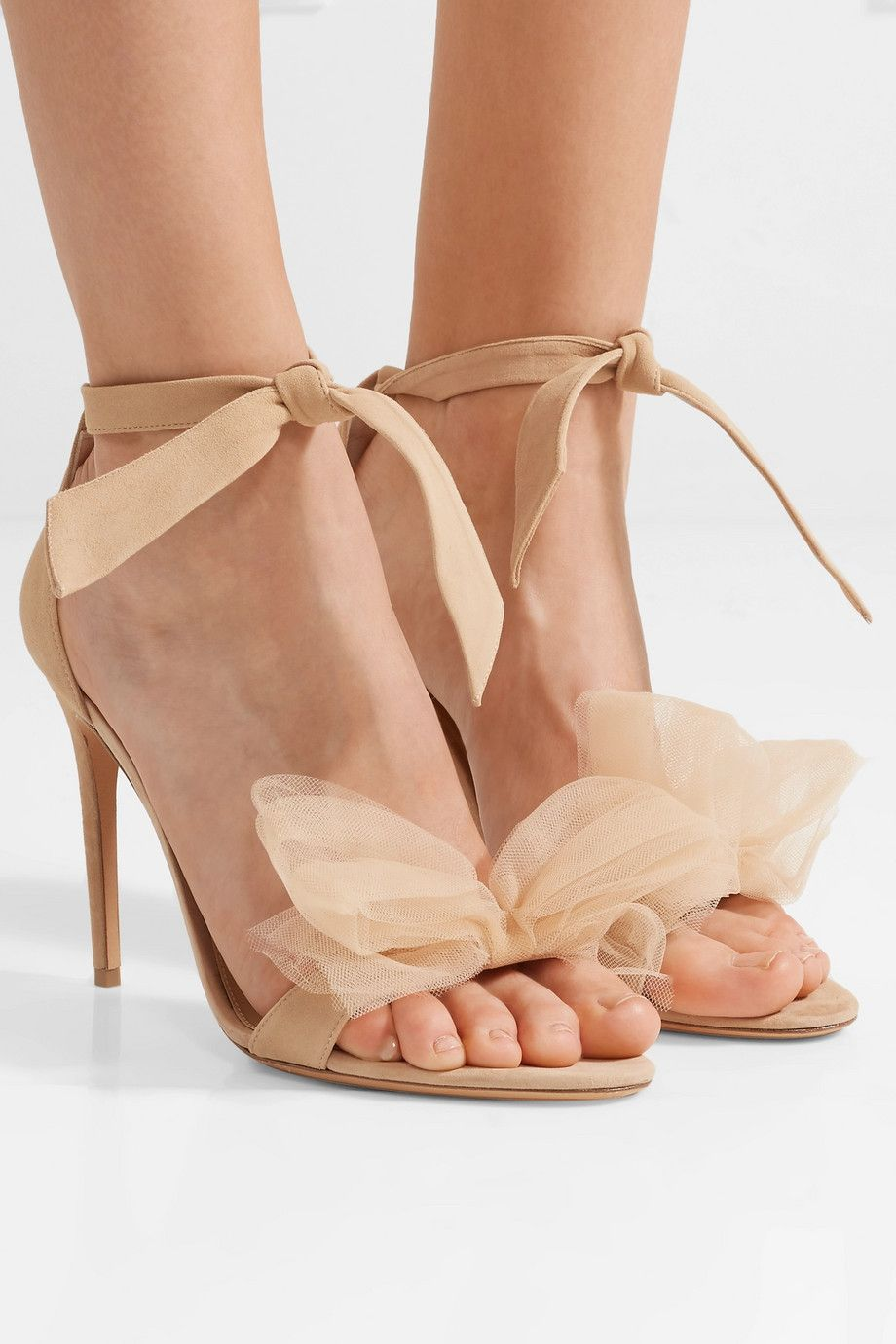 Bow Tulle Embellished Alexandre Sandals And Clarita Suede Birman EzvSqP