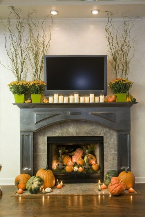Fireplace Decor Ideas a merry mantel. view in gallery turn the mantel. fireplace mantel