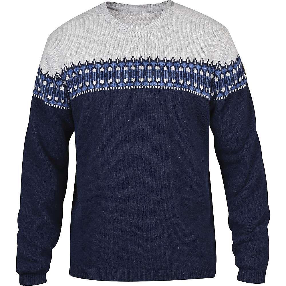 6045737303386 Fjallraven Men's Ovik Scandinavian Sweater - XL - Dark Navy ...