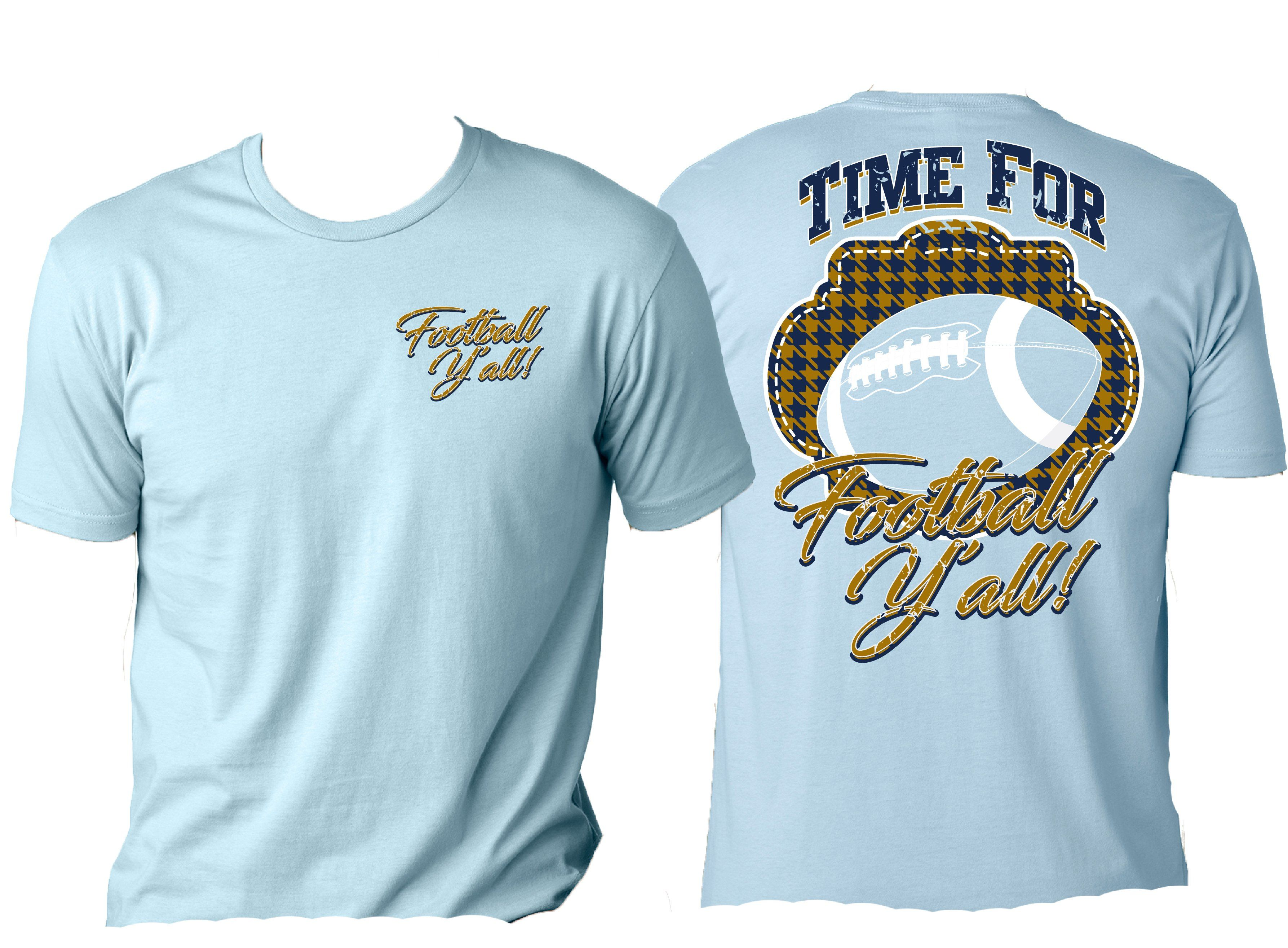 Its time for football yall blue gold