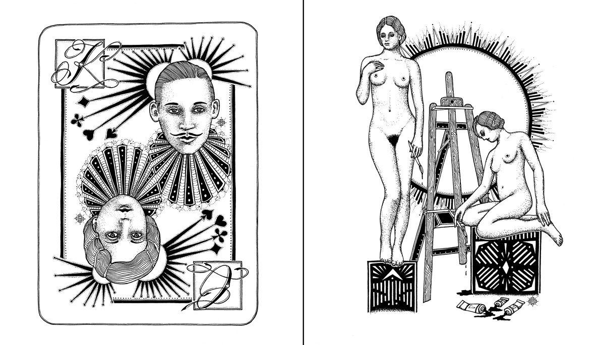 book.illustration - ---> MINKA SICKLINGER <---