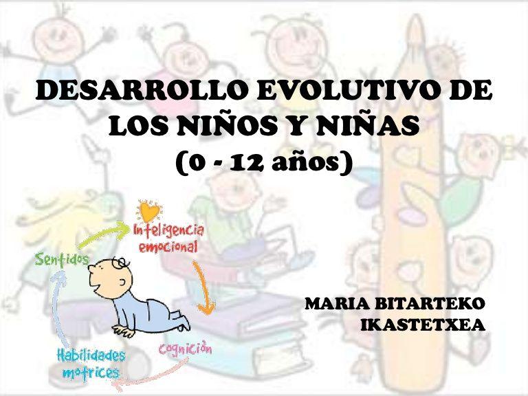 Desarrollo Evolutivo De Los Niños Y Niñas 0 12 Años Education My Love Comics