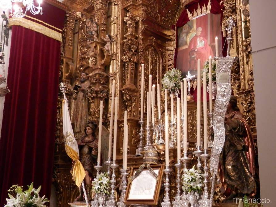 Besamanos extraordinario Esperanza de Triana - Sevilla   http://www.trianaocio.es/#!cofrade/c1d94