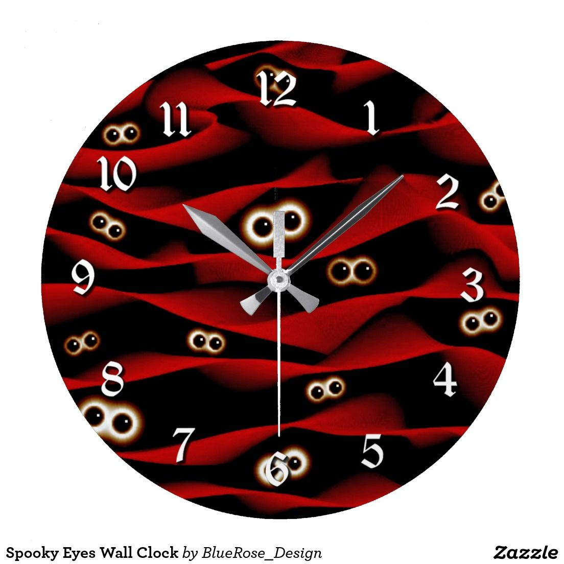 Spooky Eyes Wall Clock