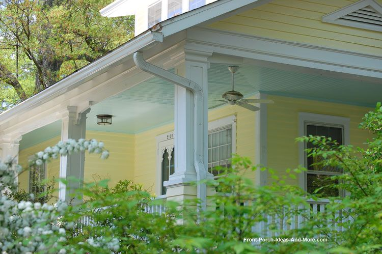 Haint blue porch paint perfect for any porch porch