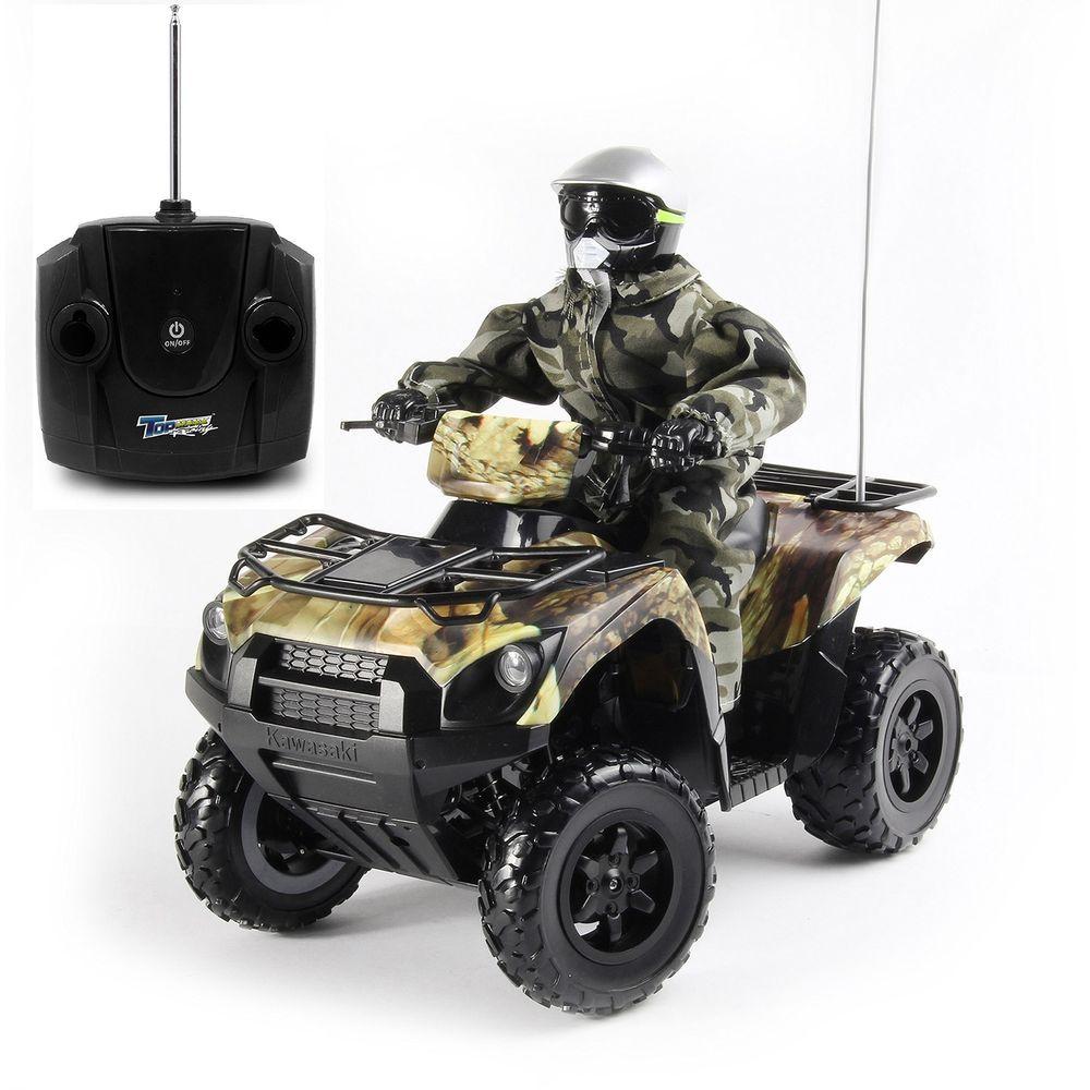 Gifts for Guys Kids Kawasaki Remote Control Camo Brute