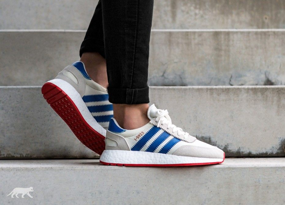 d0d483a879b adidas I-5923 (Off White / Blue / Core Red) | Adidas originales ...
