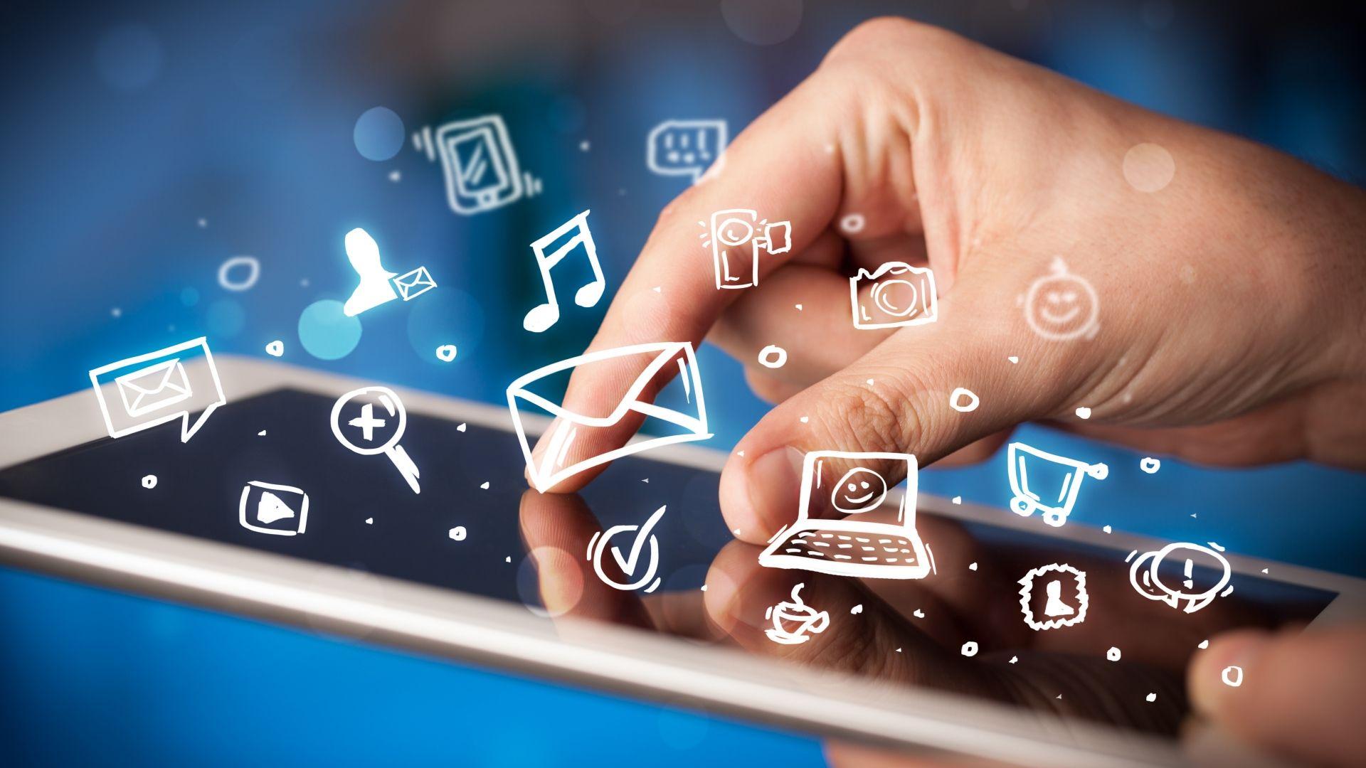 Обои смартфон, Интернет, социальные сети. HI-Tech foto 15