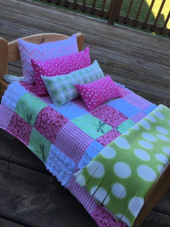 Astrid 7 Piecedoll Bedding And Pajama Set On Etsy