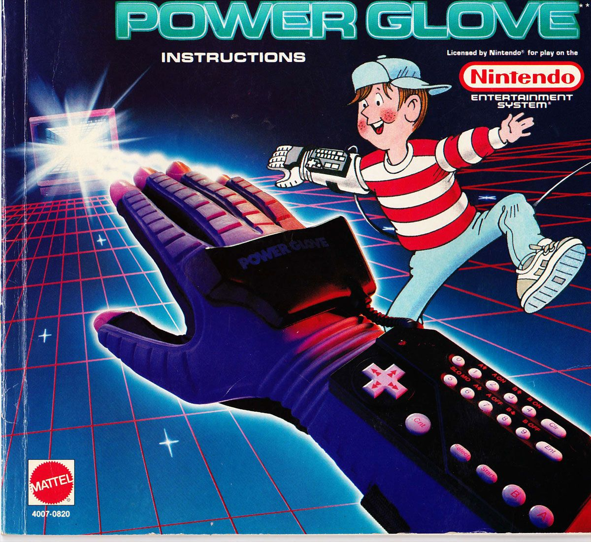 The Nintendo NES Power Glove looked better than it