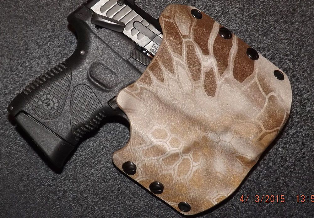 Hanguns with STREAMLIGHT TLR-3 OWB Kydex Holster for 50 PUNISHER GREEN /& TAN