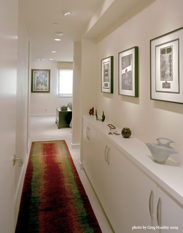 Squeezing Style Into A Narrow Hallway Narrow Hallway Decorating Hallway Designs Narrow Hallway