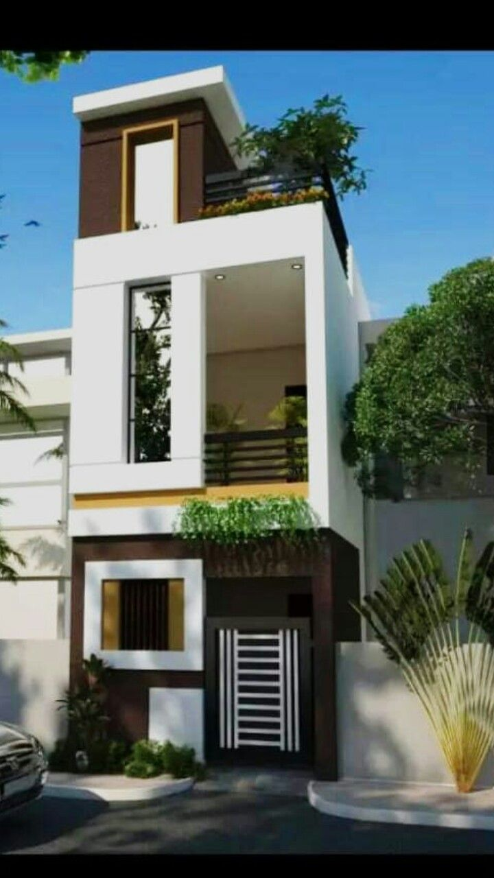 House Front Design Small House Elevation Design Architectural House Plans: Pin By Alexandra Ramos Samaniego On Home Design In 2019