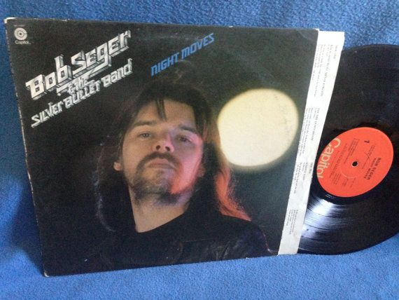 Vintage Bob Seger The Silver Bullet Band By Sweetleafvinyl Bob Seger Vinyl Sales Vintage Bob