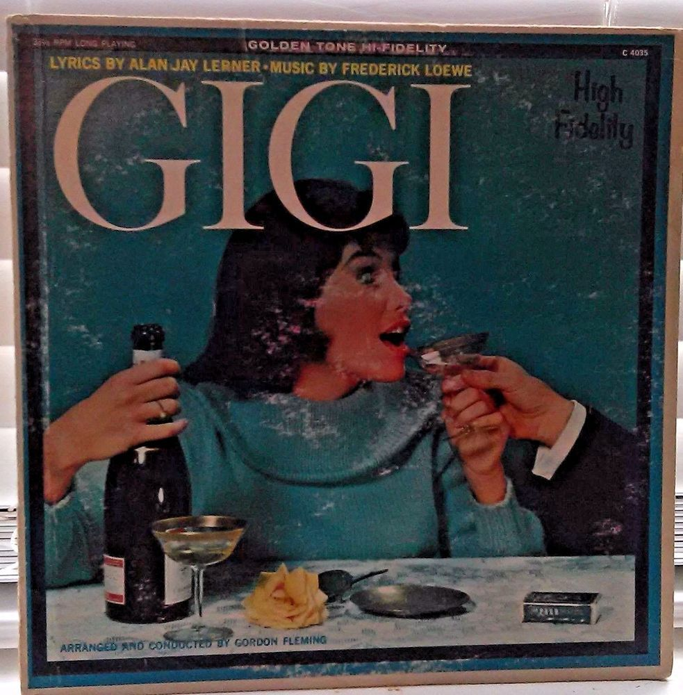 Gigi Movie Soundtrack Vinyl Lp 1960 Filmscoresoundtrack Gigi Movie Movie Soundtracks Soundtrack
