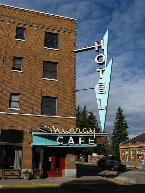 Murray Hotel Cafe In Livingston Montana