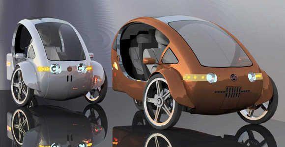 Elf Half Bike Solar Ed Car Astounde