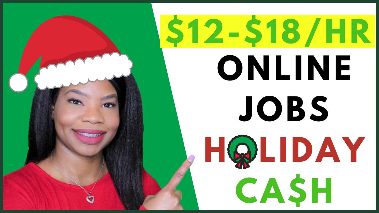 Seasonal Jobs Now Hiring!. Work from home jobs. Paid