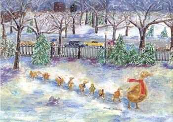 Linda Levine, Artists See Boston, Winter Images Catalogue