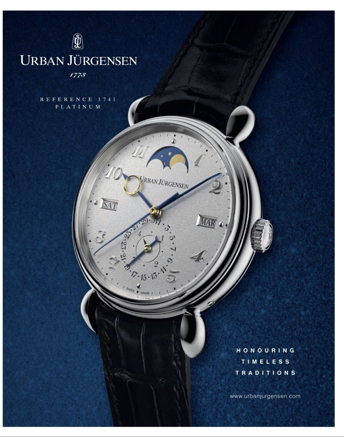 52f0abaab66 Pin de Levi Castro em Relógios Urban Jürgensen em 2019