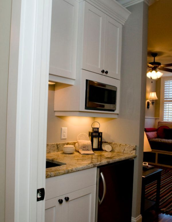 Small But Charming And Beautifully Organized Kitchenettes Pictures