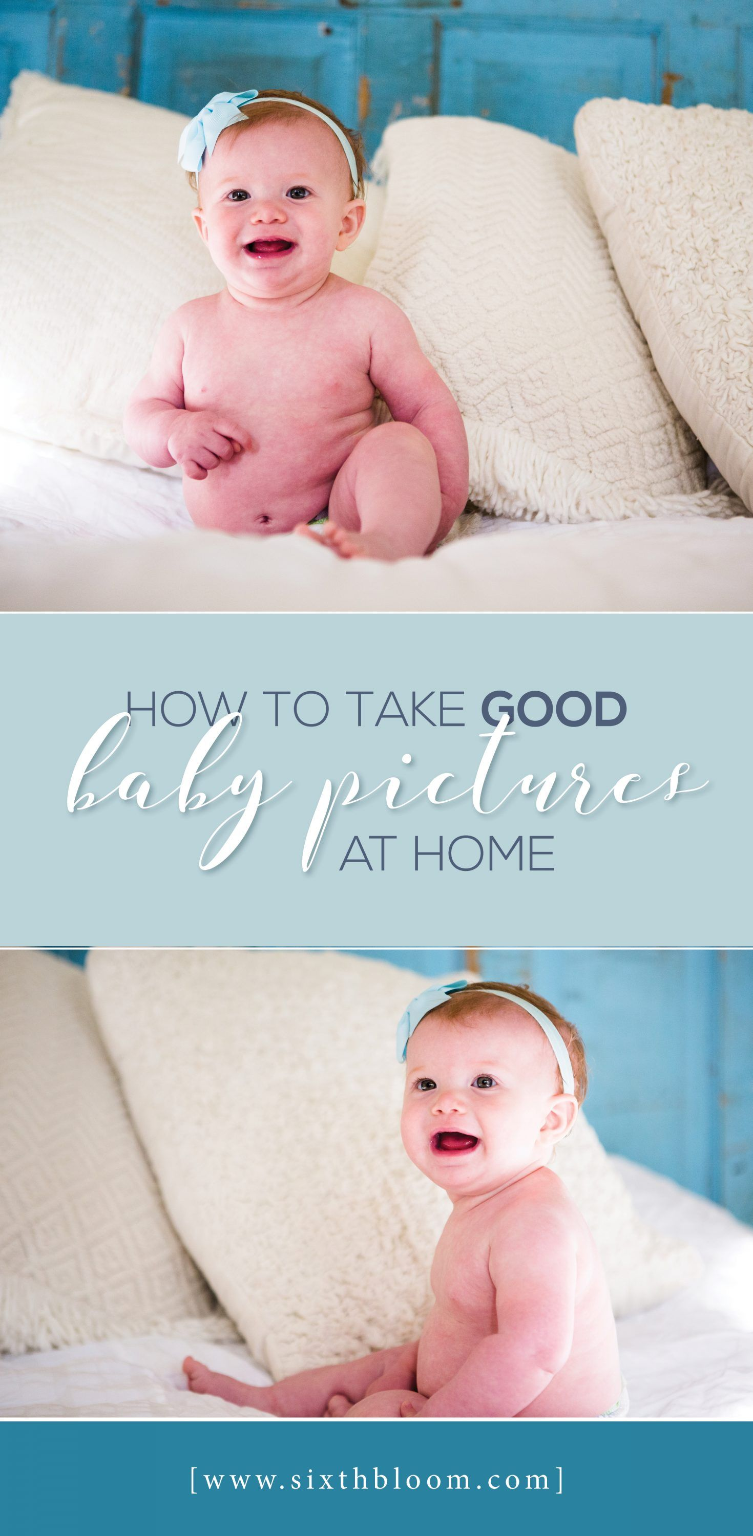 How to Take Good Baby Pictures at Home   Child Photography
