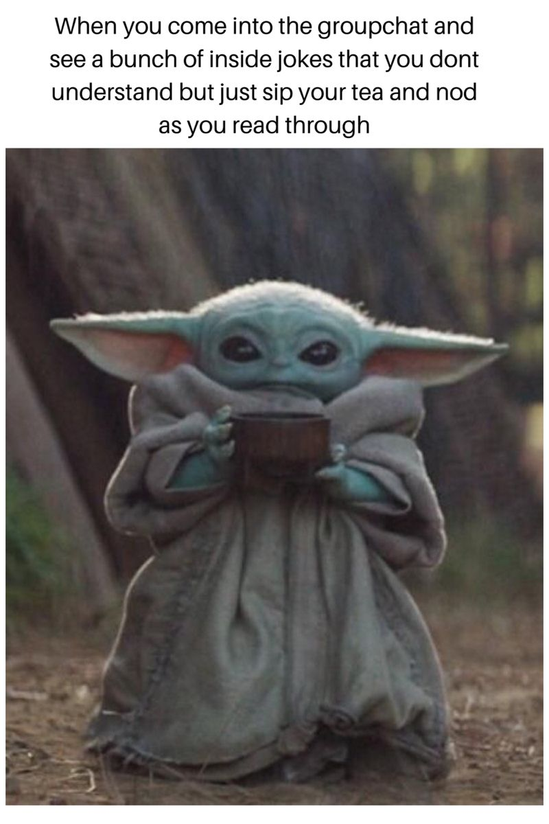 Baby Yoda Memes Star Wars Action Figures Cute Memes Star Wars Fandom