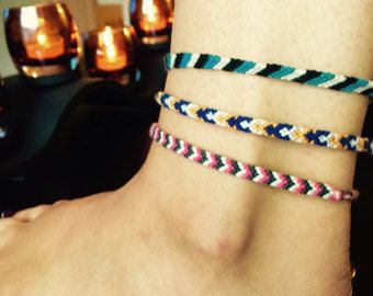 ankle luck market thread sale il etsy braided rope bracelets for anklet couple hfty bracelet red accessory good string