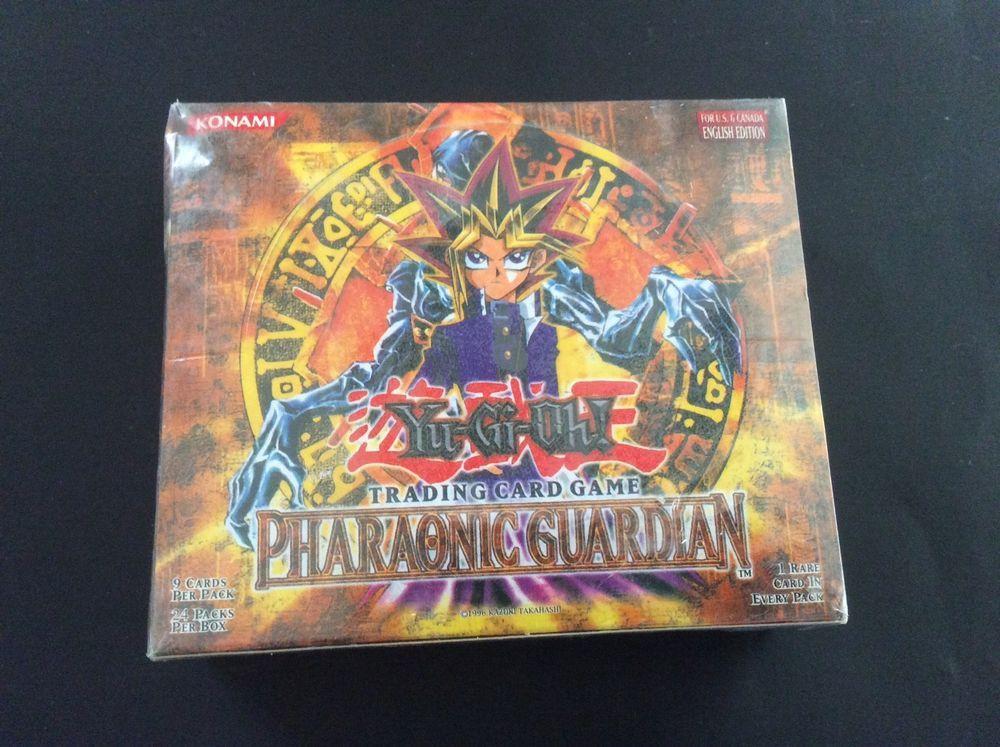Yugioh pharaonic gaurdian 24 pack booster box 1996