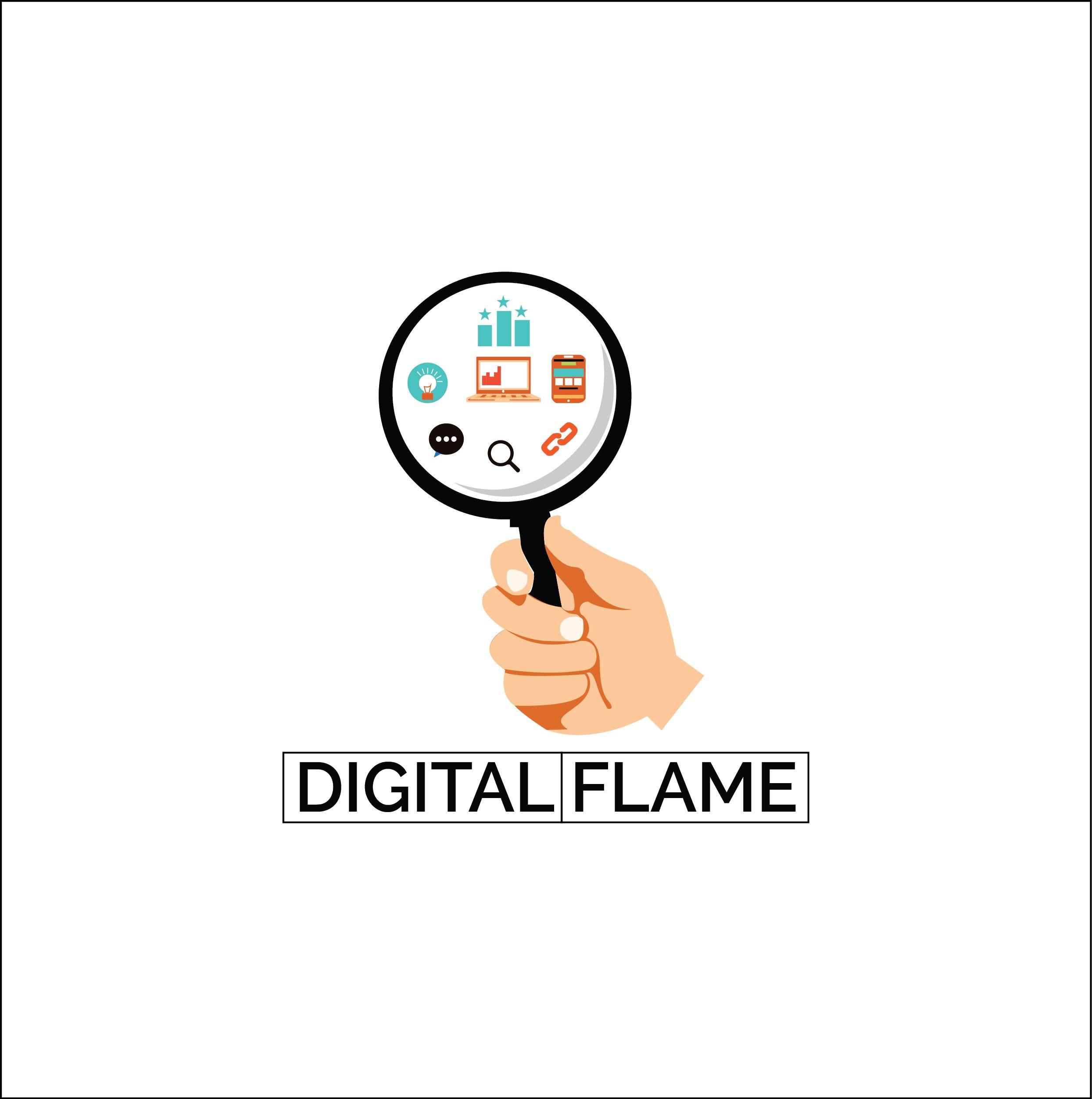 Digital marketing logo.. | Marketing logo, Negative space ...
