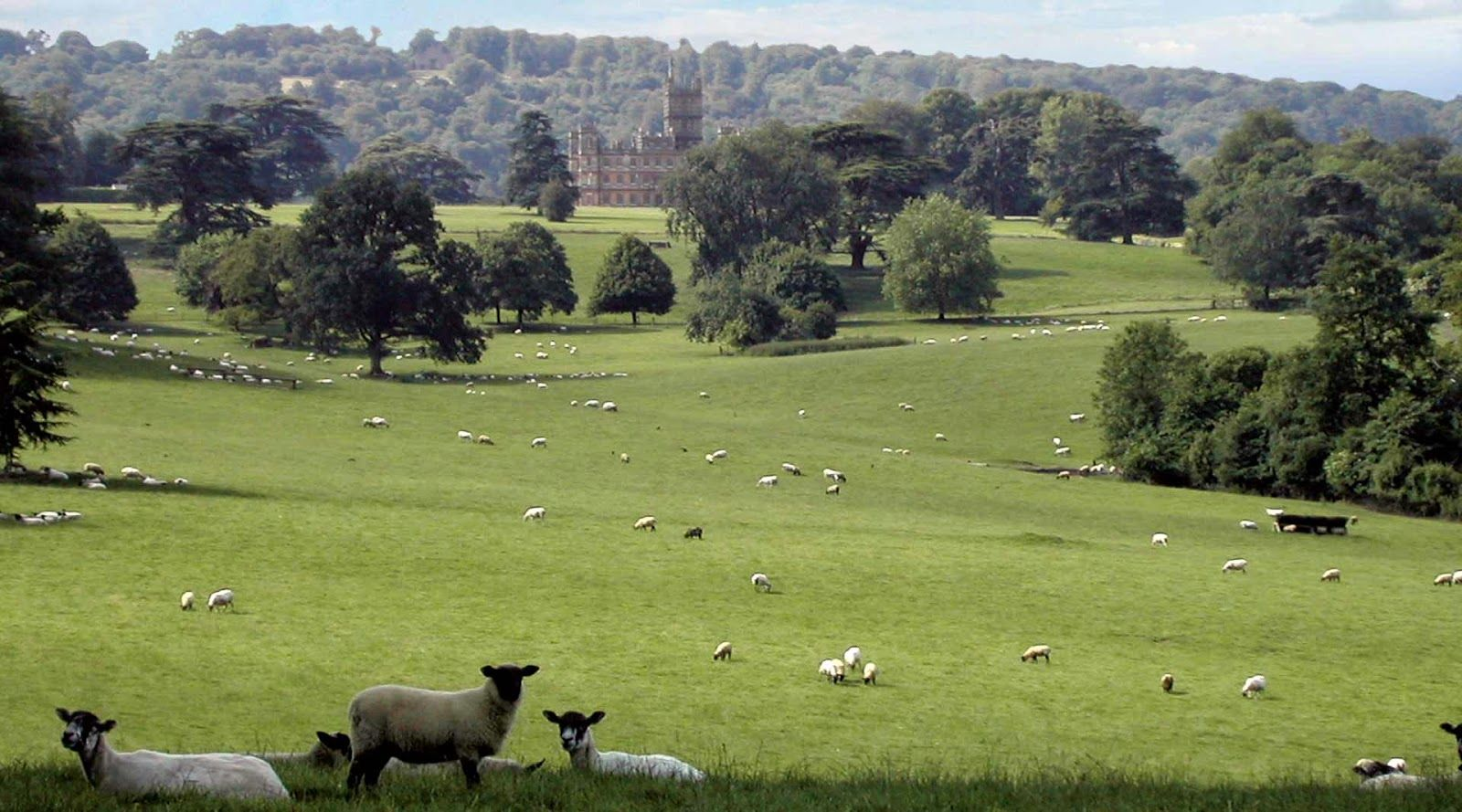 Pin by Daniel Katz on Capability Brown | Highclere castle ...