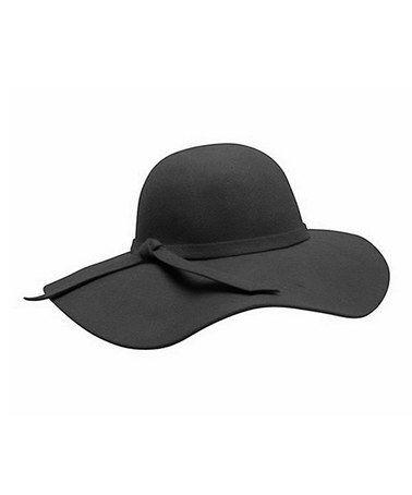 4ec7d475652 Another great find on  zulily! Black Floppy Wool Hat  zulilyfinds ...