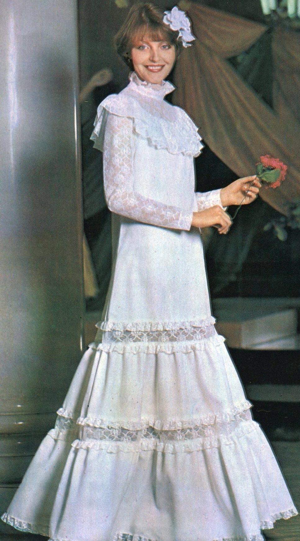 Russian wedding dress. 1983. #bride #dress #Russian #weddings ...