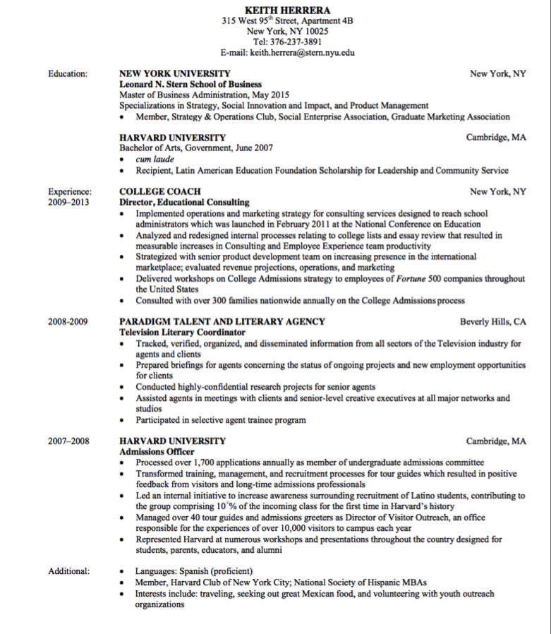 Education Resume Sample  HttpExampleresumecvOrgEducation