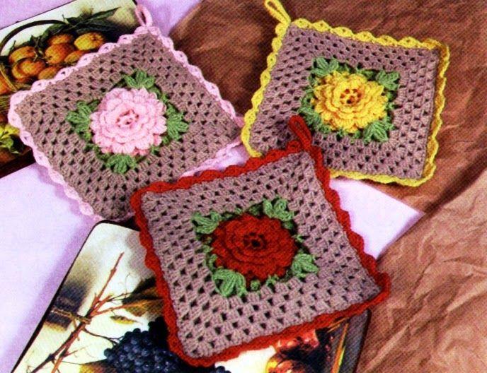 Closet For Crocheted Napkin مفرش صغير للمطبخ Crochet For Kitchen Crochet Mat Crochet Crochet Motif