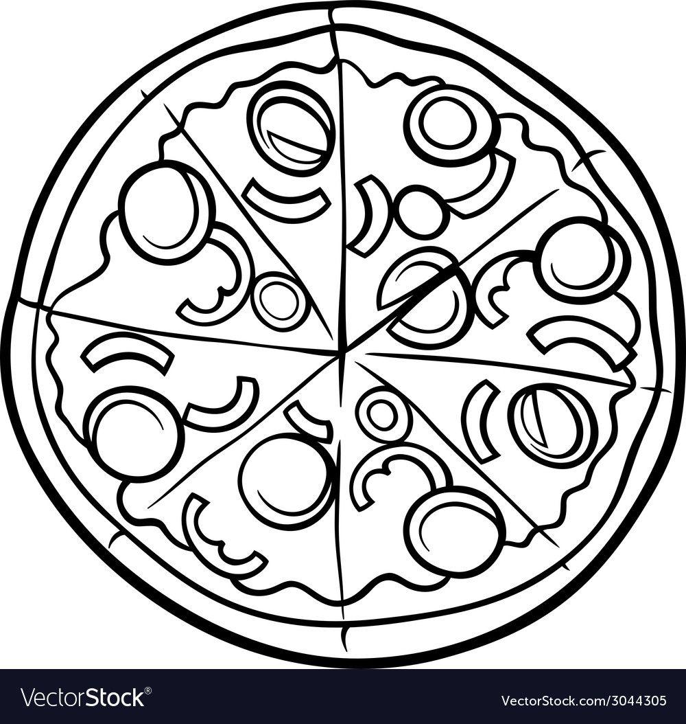 Pin Di Pao Escobar Su Recipe Book Pizza Disegno Cibo Colori