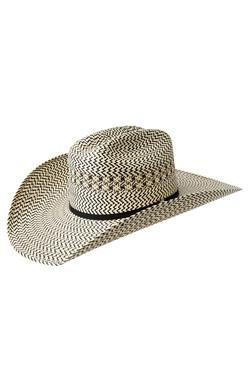 Tombstone Longhorn Zig-Zag Cowboy Straw Hat  c02359b6920
