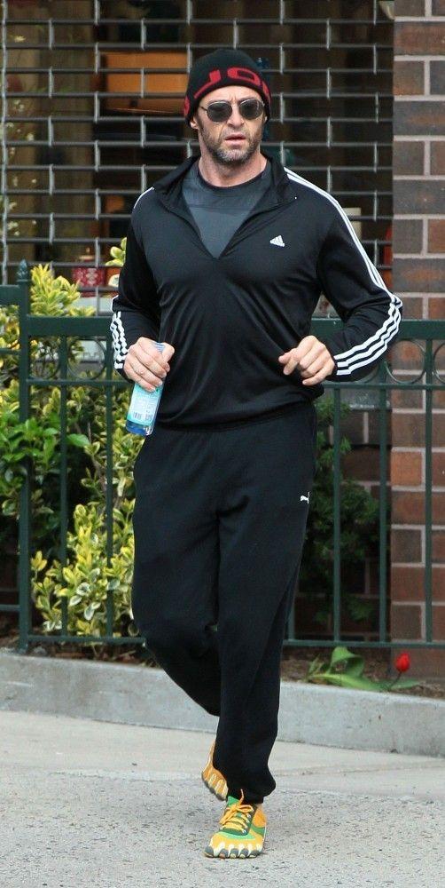 Hugh Jackman Photo - Hugh Jackman Out Jogging in NYC